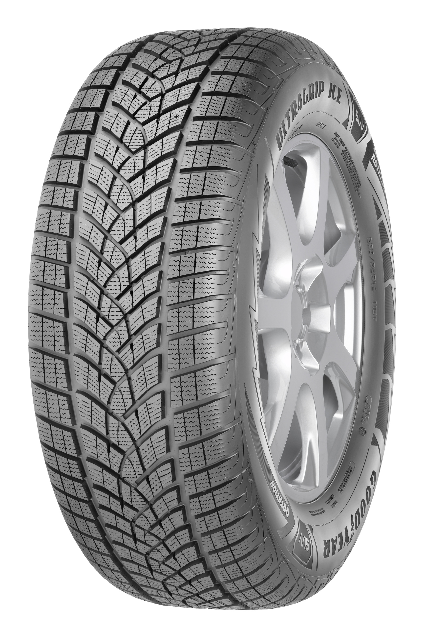 Зимняя шина GoodYear UltraGrip Ice SUV G1 255/45 R20 105T FR XL