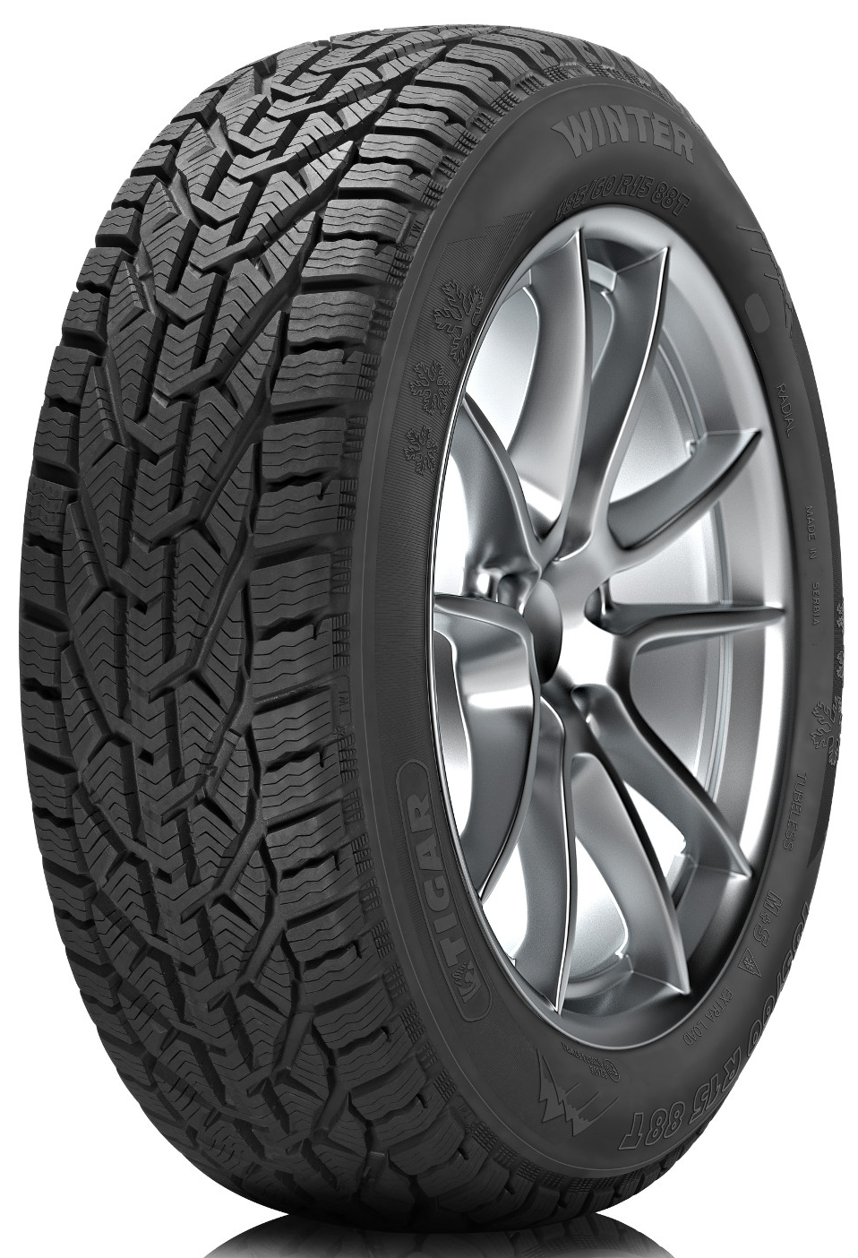 Зимняя шина Tigar Winter 215/40 R17 87V XL