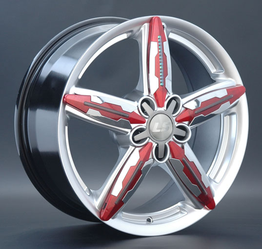 Литой диск LS wheels W5888 Left 8 x 18 5*120 Et: 20 Dia: 74,1 HP+LED