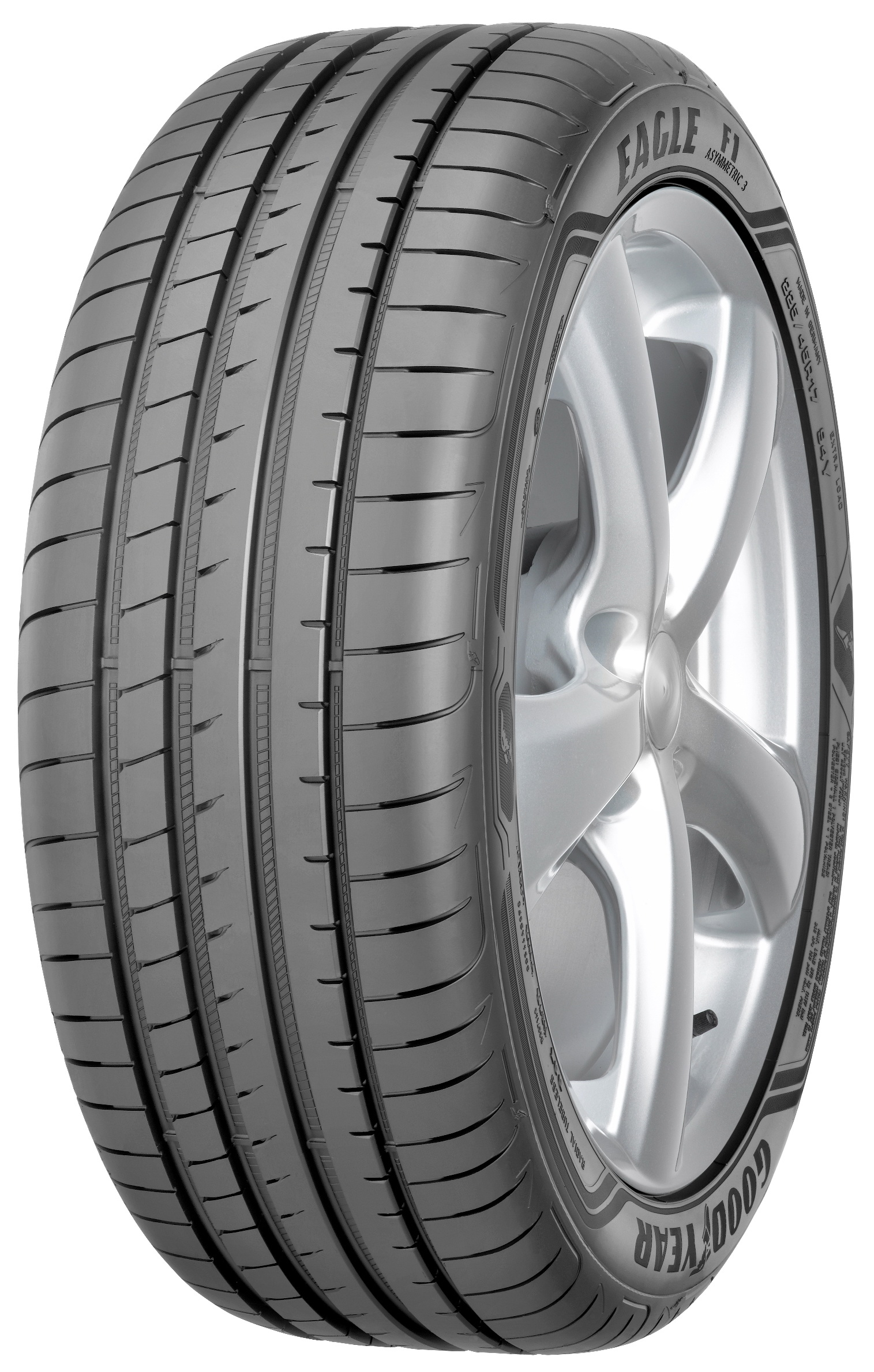 Летняя шина GoodYear Eagle F1 Asymmetric 3 225/50 R17 98Y