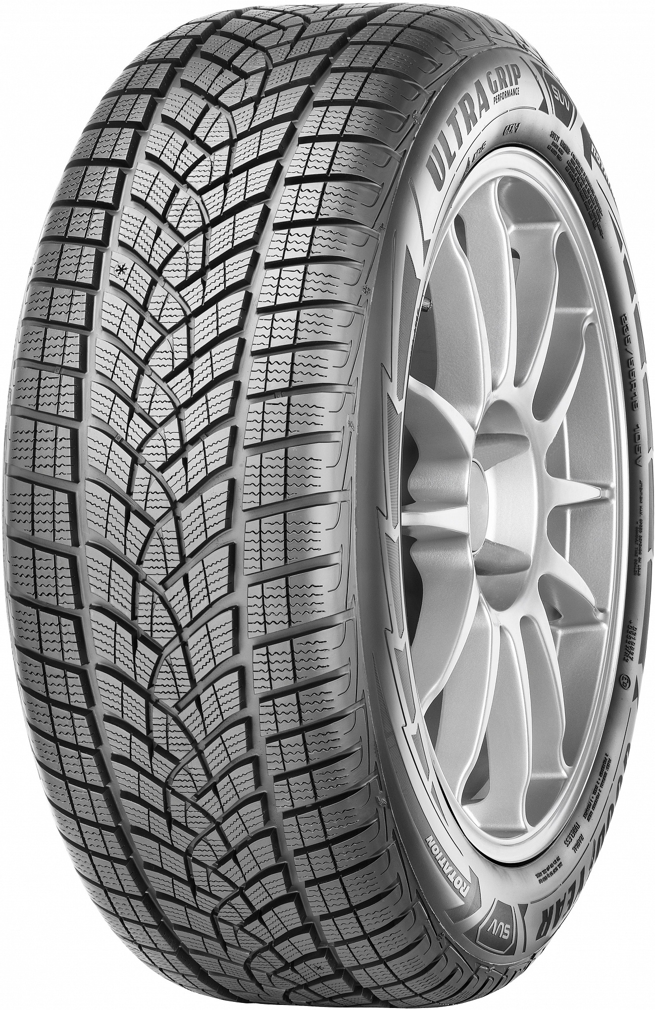 Зимняя шина GoodYear UltraGrip Performance SUV Gen-1 265/50 R19 110V SCT FR XL