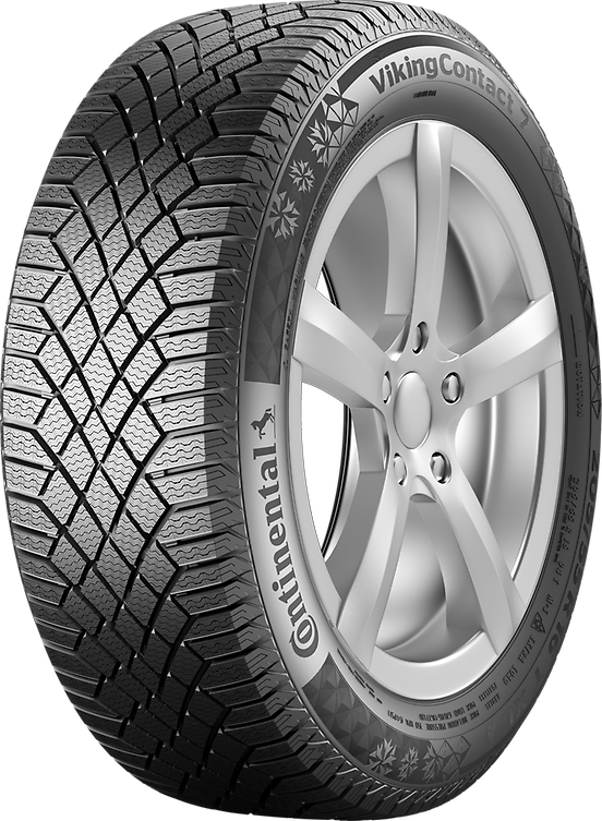 Зимняя шина Continental Viking Contact 7 205/50 R17 93T