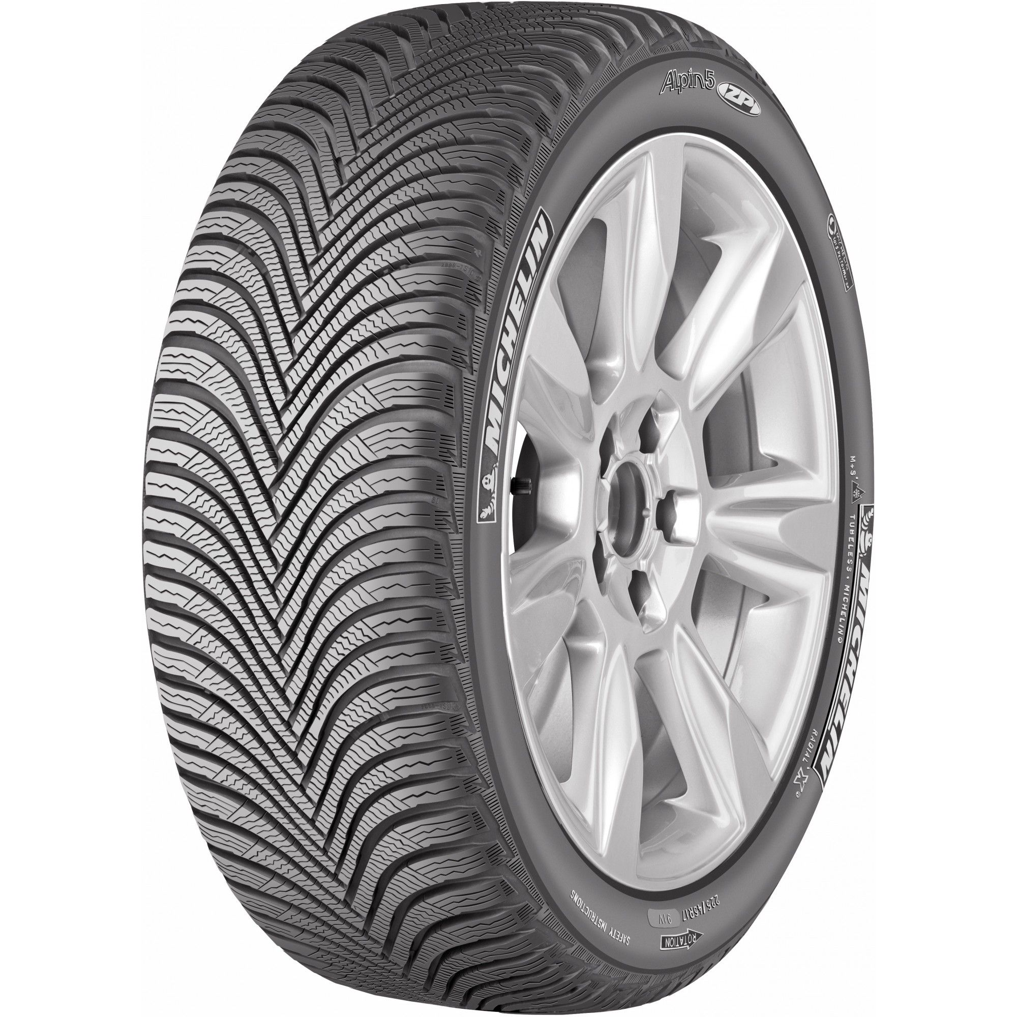 Зимняя шина Michelin Alpin 5 205/55 R17 91H RF
