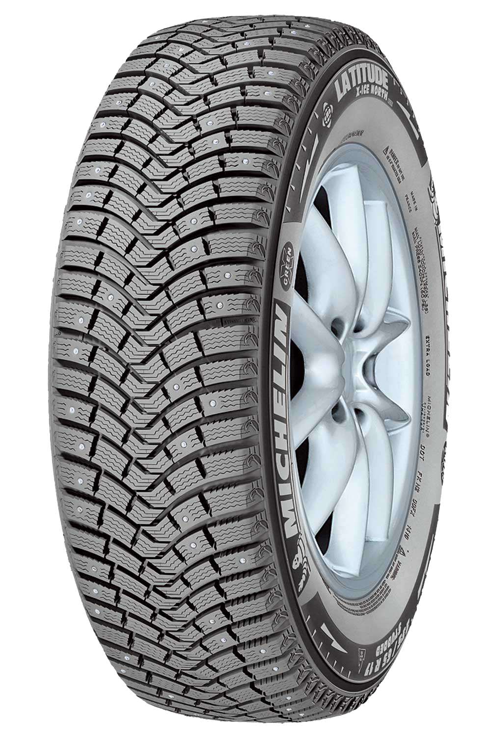 Зимняя шипованная шина Michelin Latitude X-Ice North XIN2 plus 255/45 R20 105T